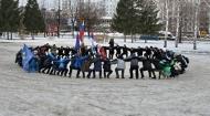 1 января состоялась Русская пробежка в Тольятти